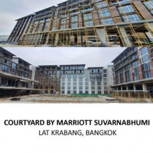 MAIN BUILDING WORKS PACKAGE <br> FOR COURTYARD HOTEL SUVARNABHUMI