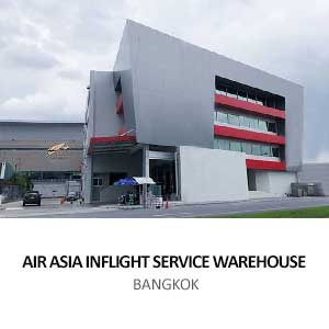 AIR ASIA INFLIGHT SERVICE WAREHOUSE <br>BANGKOK