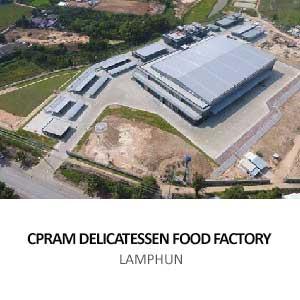 CPRAM DELICATESSEN FOOD FACTORY <br>LAMPHUN