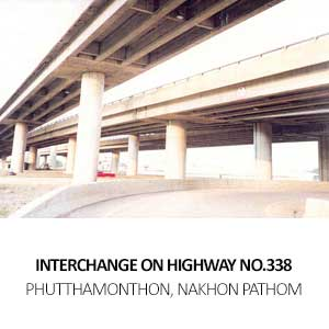 INTERCHANGE ON HIGHWAY NO.338 <BR>PHUTTHAMONTHON, NAKHON PATHOM