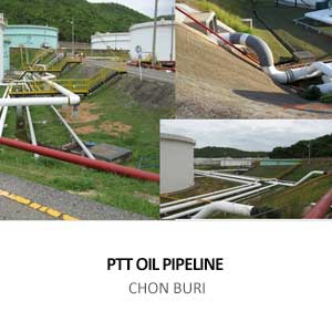 PTT OIL PIPELINE FROM THAI OIL TANK