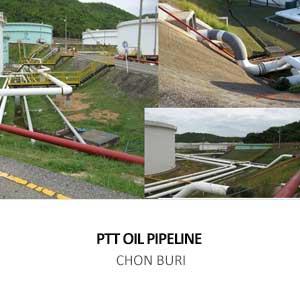 PTT OIL PIPELINE FROM THAI OIL TANK