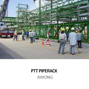 NEW PIPE RACK  FOR PTT CHEMICAL PCL
