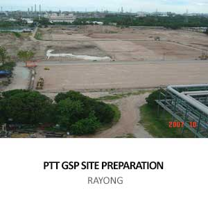 SITE PREPARATION WORKS FOR PTT GSP#6