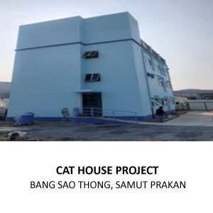 CONSTRUCTION OF NEW CAT HOUSE FOR PERFECT COMPANION GROUP