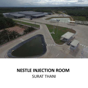 NESTLE PROJECT SOUTH INJECTION ROOM